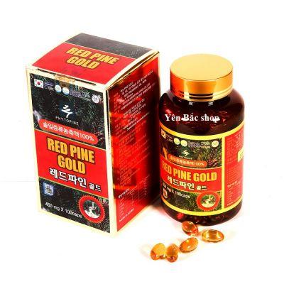 Tinh dầu thông đỏ Hàn Quốc100 Viên Red Pine Gold