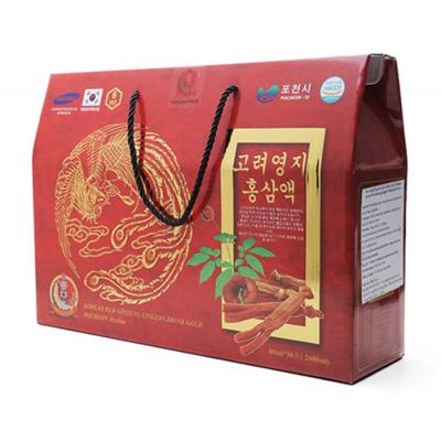 Nước Hồng Sâm Linh Chi 30 gói x 70ml Pocheon Hàn Quốc