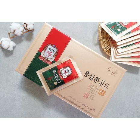 Nước Hồng Sâm Tonic Gold 40ml x 30 Gói Chính Phủ Cheong Kwan Jang Hàn Quốc