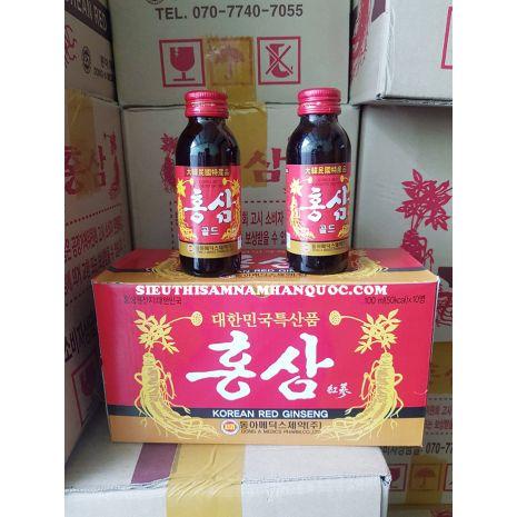 nước hồng sâm hàn quốc Dong a chai nhỏ 100ml