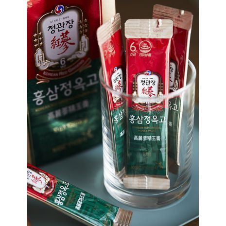 Nước Hồng Sâm Hàn Quốc Mật Ong 30 Gói Cao Cấp KGC Extract with Honey Paste