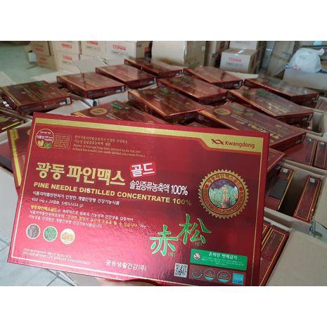Tinh Dầu Thông Đỏ Kwangdong 120 Viên Hàn Quốc Chính Hãng